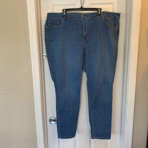Avenue Plus Size Ankle Jeans